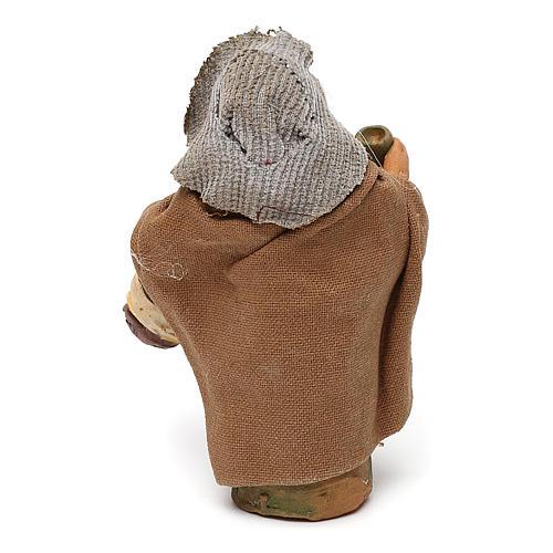 STOCK Beone terracotta vestito 10 cm per presepe napoletano 3