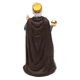 Old Wise Man for Neapolitan Nativity scene 8 cm s2