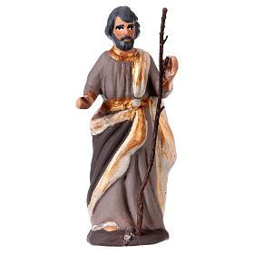 St. Joseph for Neapolitan Nativity scene 8.5 cm s1