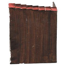 Scena forno con panettiere terracotta dipinta cm 8 s4