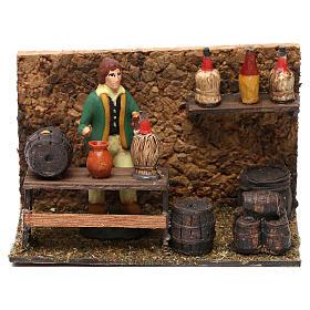 Wine shop for Neapolitan Nativity scene 8 cm s1