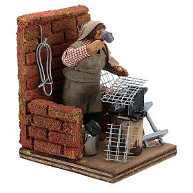 Blacksmith with tools 10 cm s4