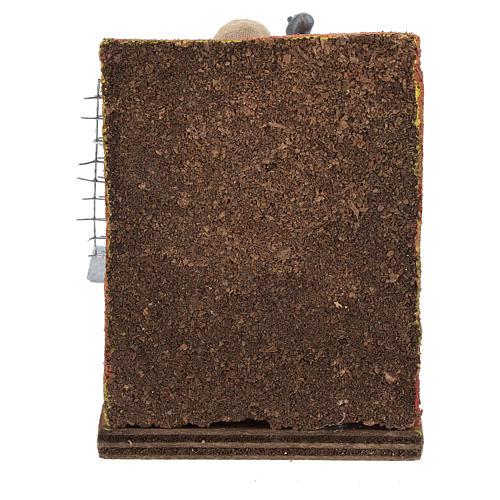 Scenetta fabbro con attrezzi 10 cm 5