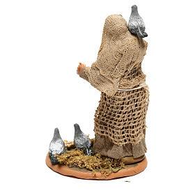 Mujer con palomas para belén napolitano de 10 cm s4