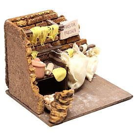 Escena pasta fresca de 10x15x10 para belén Nápoles de 10 cm s3