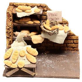 Bakery 10x15x10 cm for Neapolitan Nativity Scene of 10 cm s1