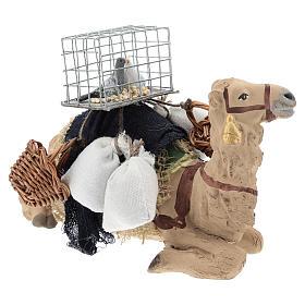 Saddled camel for Nativity scenes 10 cm s4