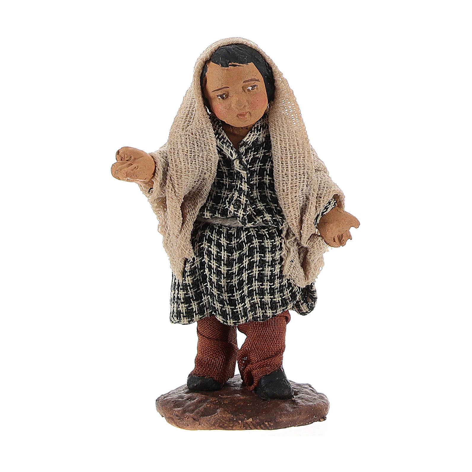 STOCK Enfant style arabe crèche napolitaine 10 cm 4
