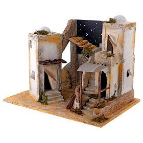 Minaret with starry sky for 8 cm Neapolitan Nativity scene s2