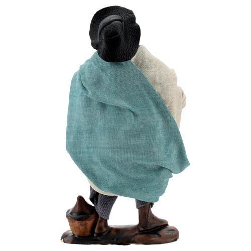 Drunkard standing 12 cm Neapolitan nativity figurine 3