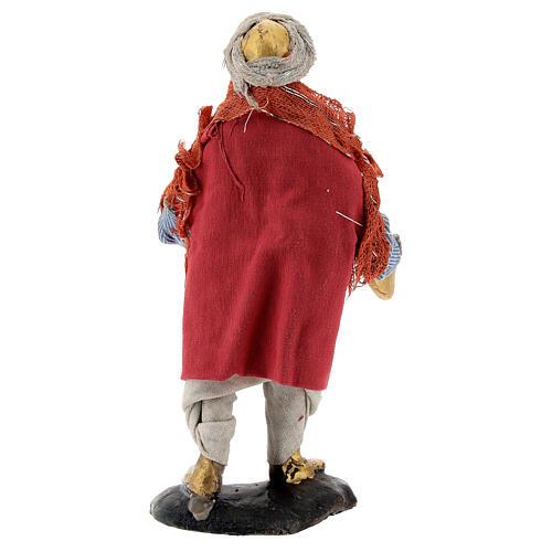 Cymbal player 12 cm Neapolitan nativity figurine 5