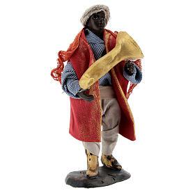 Trumpet player 12 cm Neapolitan nativity figurine s4