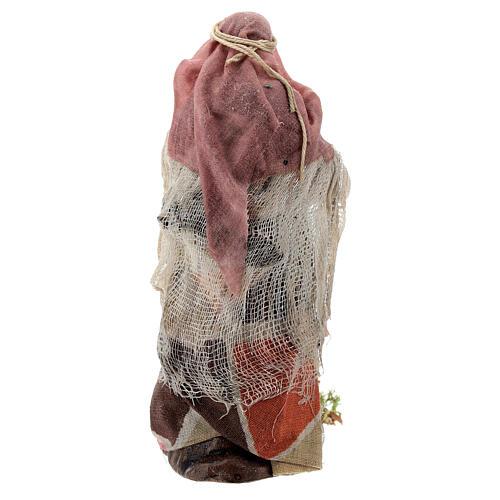Femme avec jarres santon terre cuite crèche napolitaine 12 cm 5