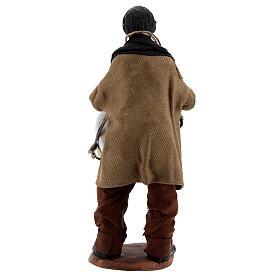 Homme avec tambour crèche napolitaine 13 cm s4