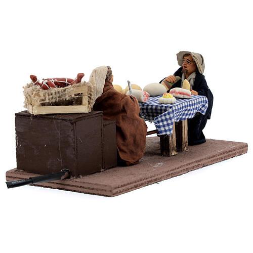 Table Neapolitan Nativity scene 10 cm 6
