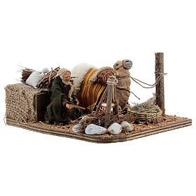 Camel rider Neapolitan Nativity scene 10 cm s4
