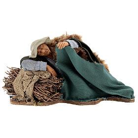 Movimiento pastor que duerme Nápoles 30 cm s1