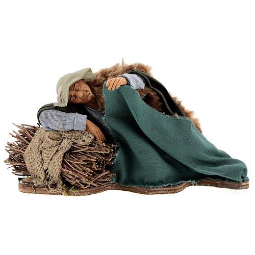 Movimiento pastor que duerme Nápoles 30 cm 1