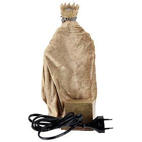 Rei Herodes movimento presépio napolitano com figuras altura média 24 cm s5