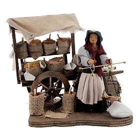 Spice seller Neapolitan Nativity scene 12 cm s1
