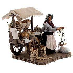 Spice seller Neapolitan Nativity scene 12 cm s4