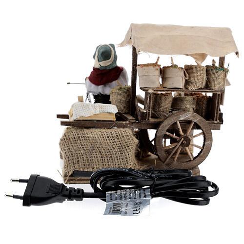 Spice seller Neapolitan Nativity scene 12 cm 5