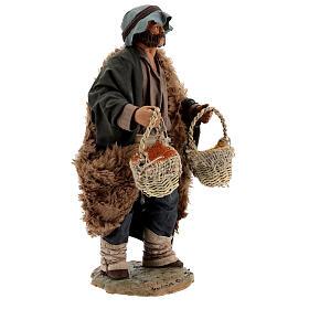 Vendedor de especiarias para presépio napolitano com figuras de altura média 24 cm s4