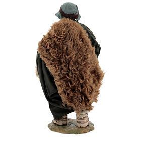 Vendedor de especiarias para presépio napolitano com figuras de altura média 24 cm s5