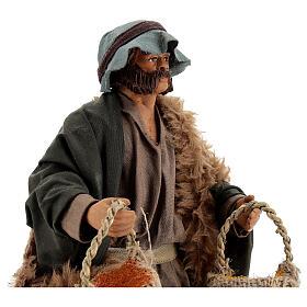 Spice seller figure, 24 cm Neapolitan nativity s2
