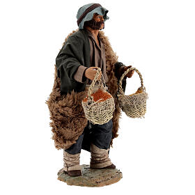 Spice seller figure, 24 cm Neapolitan nativity s4