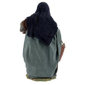 Femme avec pommes crèche napolitaine 24 cm s5