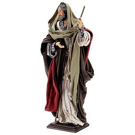 San Giuseppe statua terracotta presepe 50 cm presepe napoletano s5