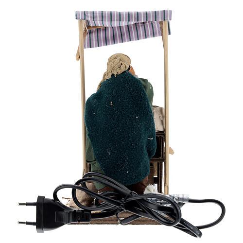 Movimiento vendedor especias belén napolitano 14 cm 4