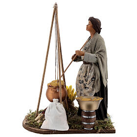 Polenta seller figurine 24 cm Neapolitan nativity s1