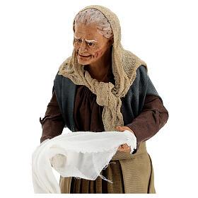 Women wringing out cloths figurines 30 cm Napolitan Nativity s2
