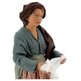 Women wringing out cloths figurines 30 cm Napolitan Nativity s4