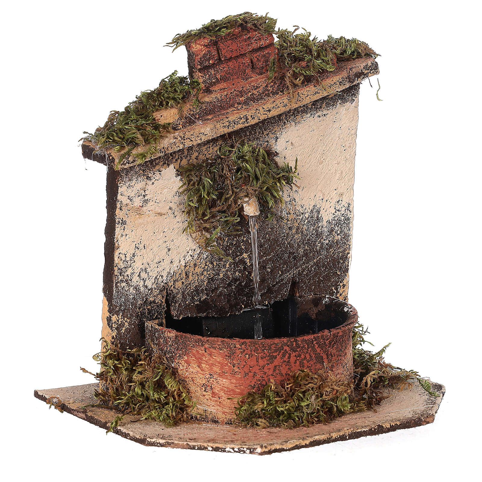Brunnen mit Pumpe Neapolitanische Krippe, 10-12 cm 4
