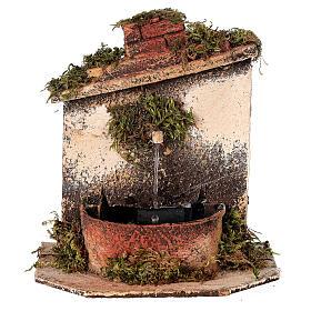 Brunnen mit Pumpe Neapolitanische Krippe, 10-12 cm s1