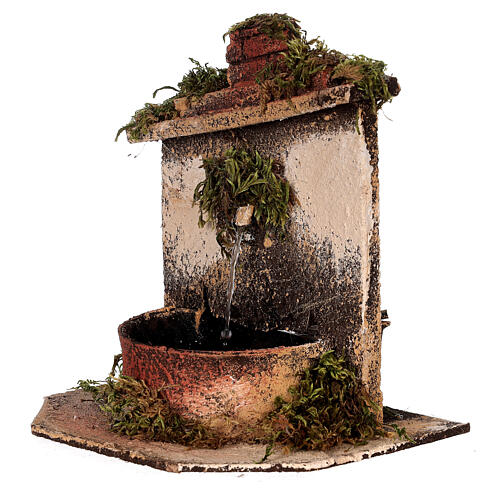Brunnen mit Pumpe Neapolitanische Krippe, 10-12 cm 2