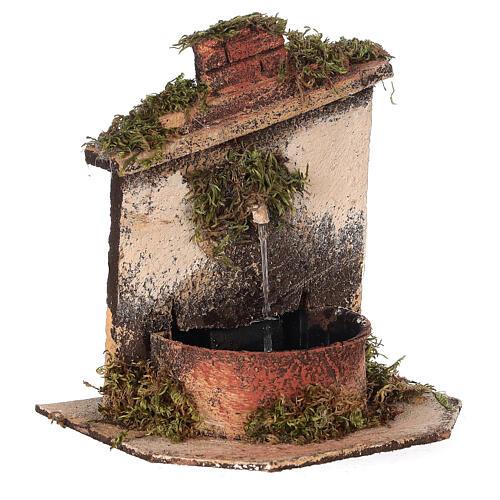 Brunnen mit Pumpe Neapolitanische Krippe, 10-12 cm 3