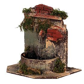 Brunnen aus Kork mit Pumpe Neapolitanische Krippe, 10-12 cm s2