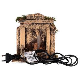 Brunnen aus Kork mit Pumpe Neapolitanische Krippe, 10-12 cm s4