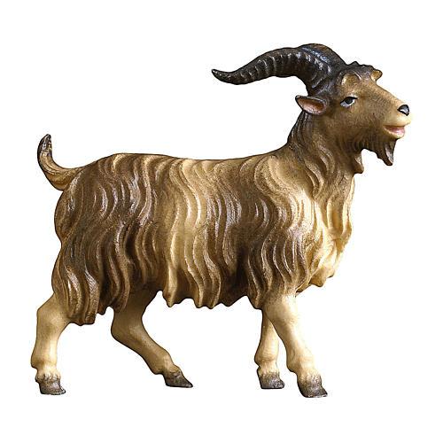Caprone presepe Original Pastore legno dipinto in Val Gardena 10 cm 1