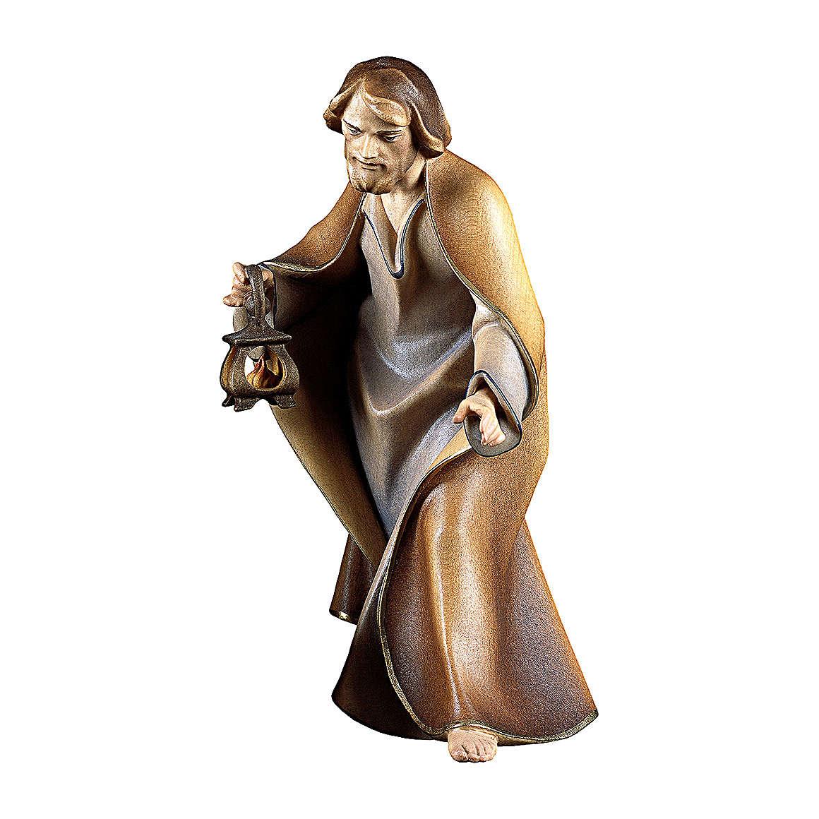 S. Giuseppe per presepe Original Redentore legno dipinto in Valgardena 12 cm 4