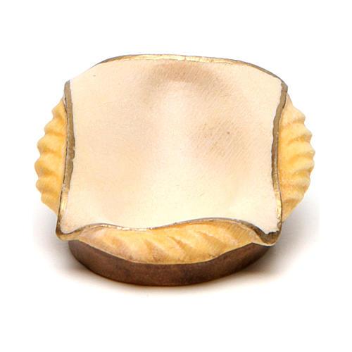 Berceau crèche Original Comète bois peint Val Gardena de 12 cm 1