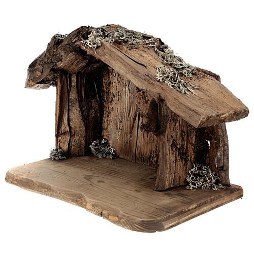 Sagrada Familia con pastor en la cueva belén Original Redentor madera Val Gardena de altura media 12 cm - 6 piezas 5