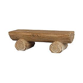 Banco para pastores madera pintada Kostner belén 9,5 cm s1