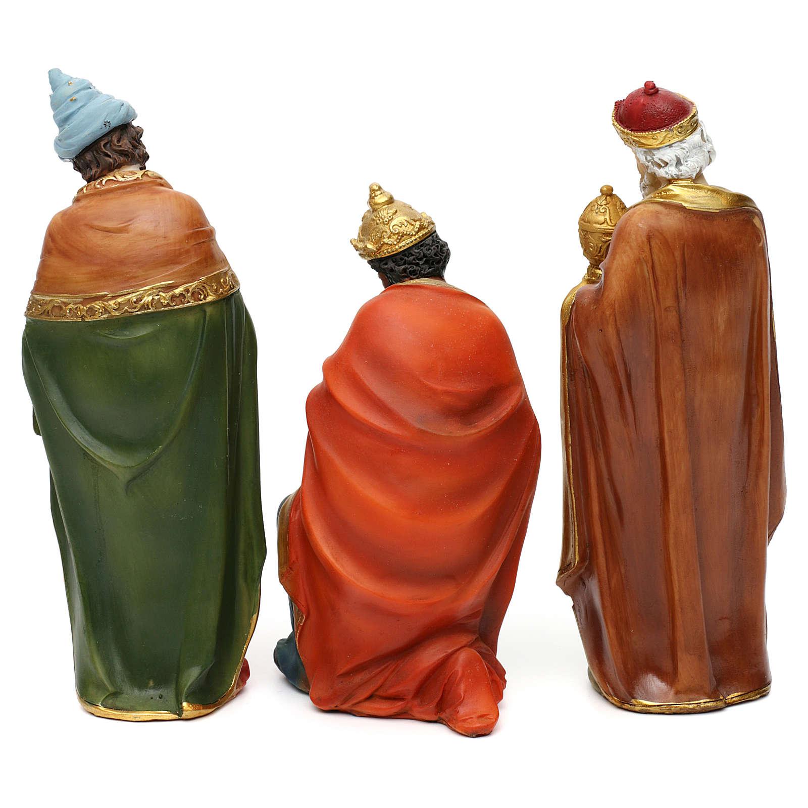 STOCK Belén 20 cm de madera 11 estatuas 4