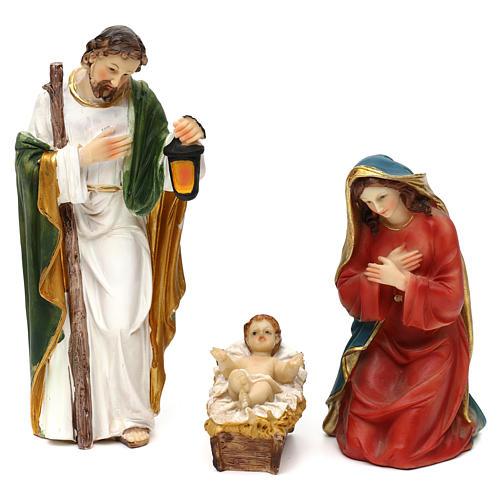 STOCK Nativity 20 cm, 11 pcs in wood 2