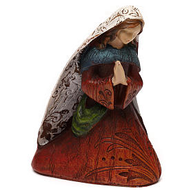 Nativity Scene 7 characters with hut 16 cm s4
